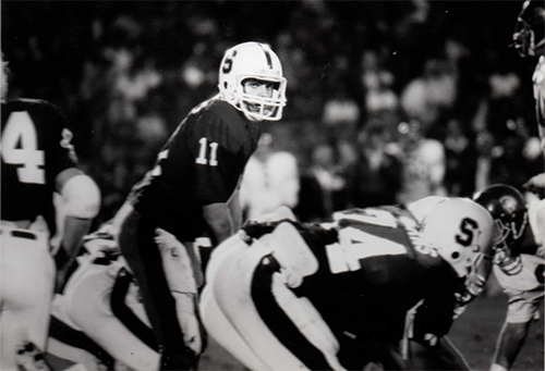 Stanford vs USC 1984 ESPN PAC 10 Game of the Week Quarterback Fred Buckley, Stanford University
