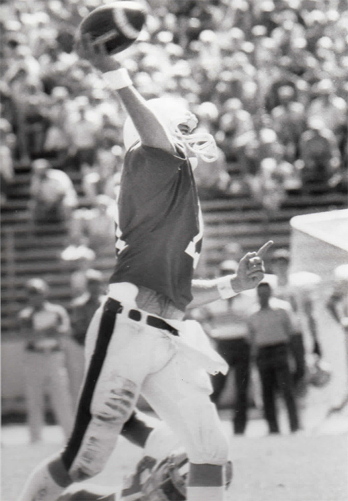 Fred Buckley Superbalife International, Stanford Quarterback 1984 vs Washington State